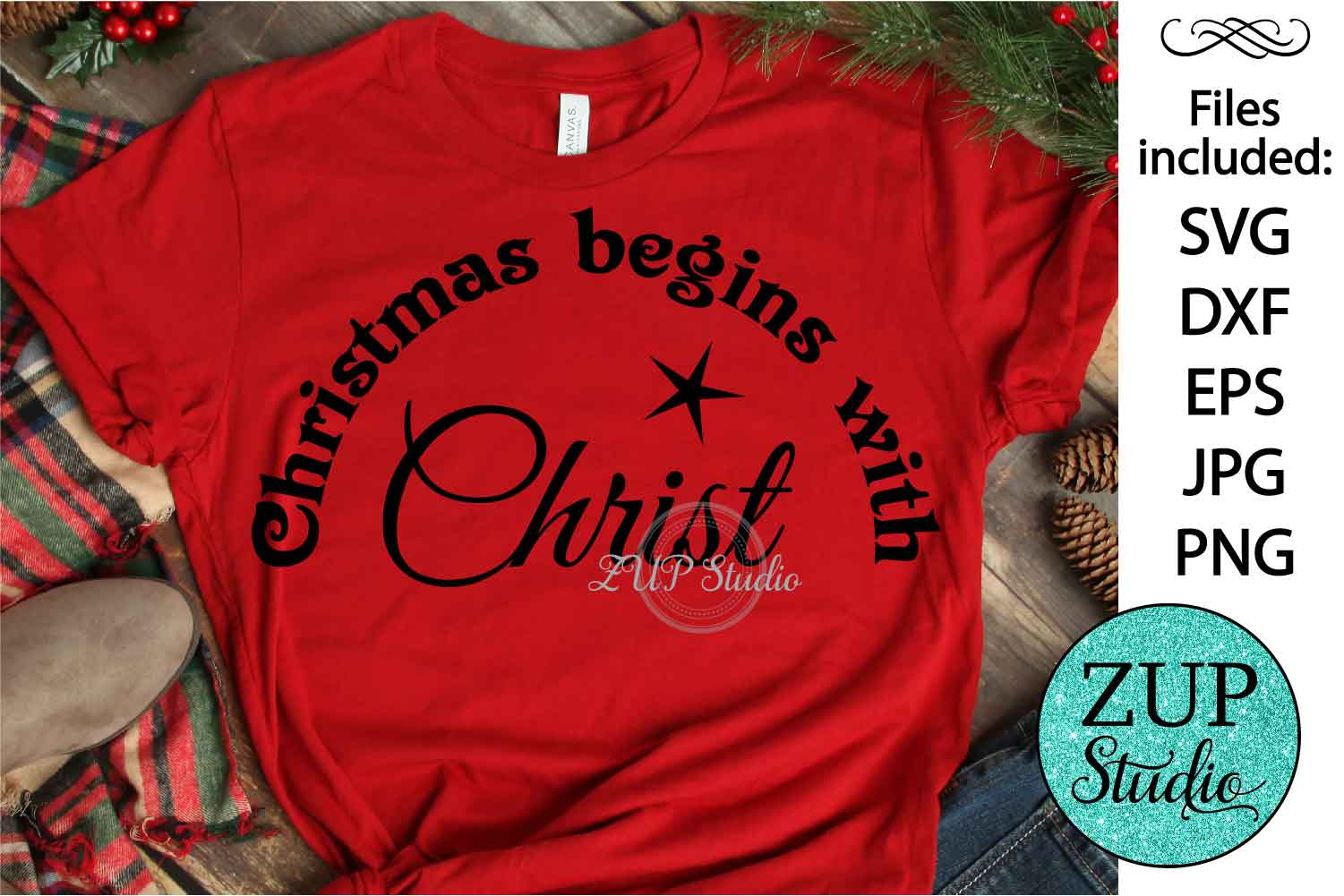 Christmas text cutting files svg 19 example image 1