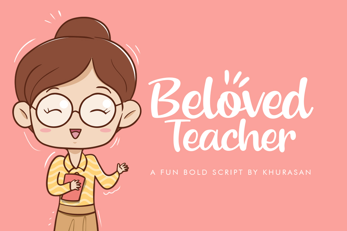 Beloved Teacher example image 1