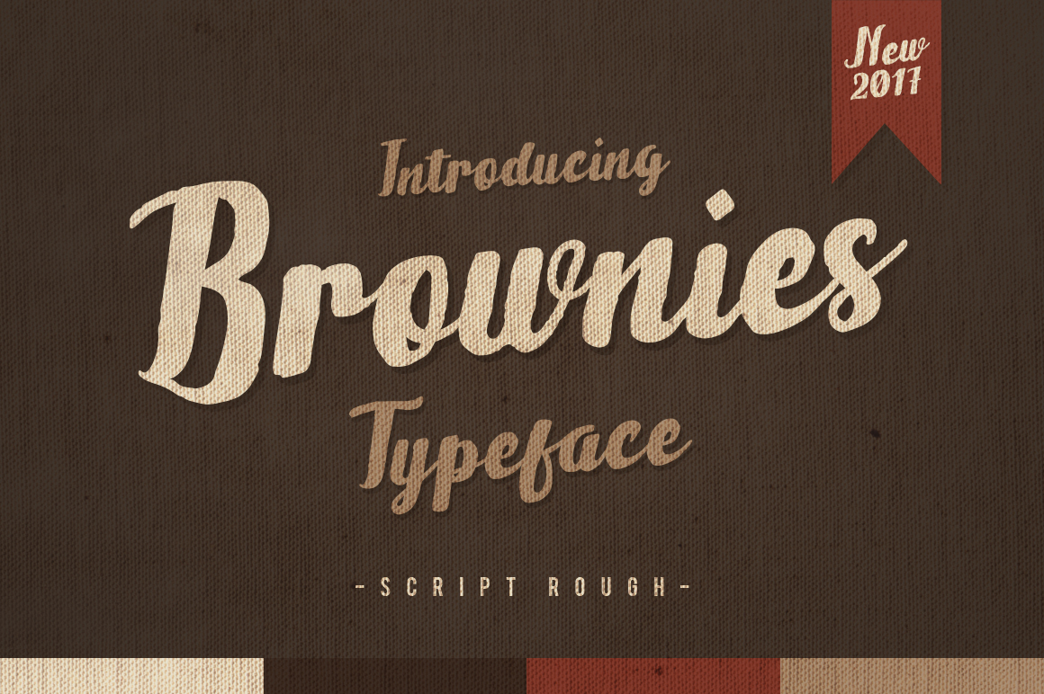 Brownies Typeface example image 1