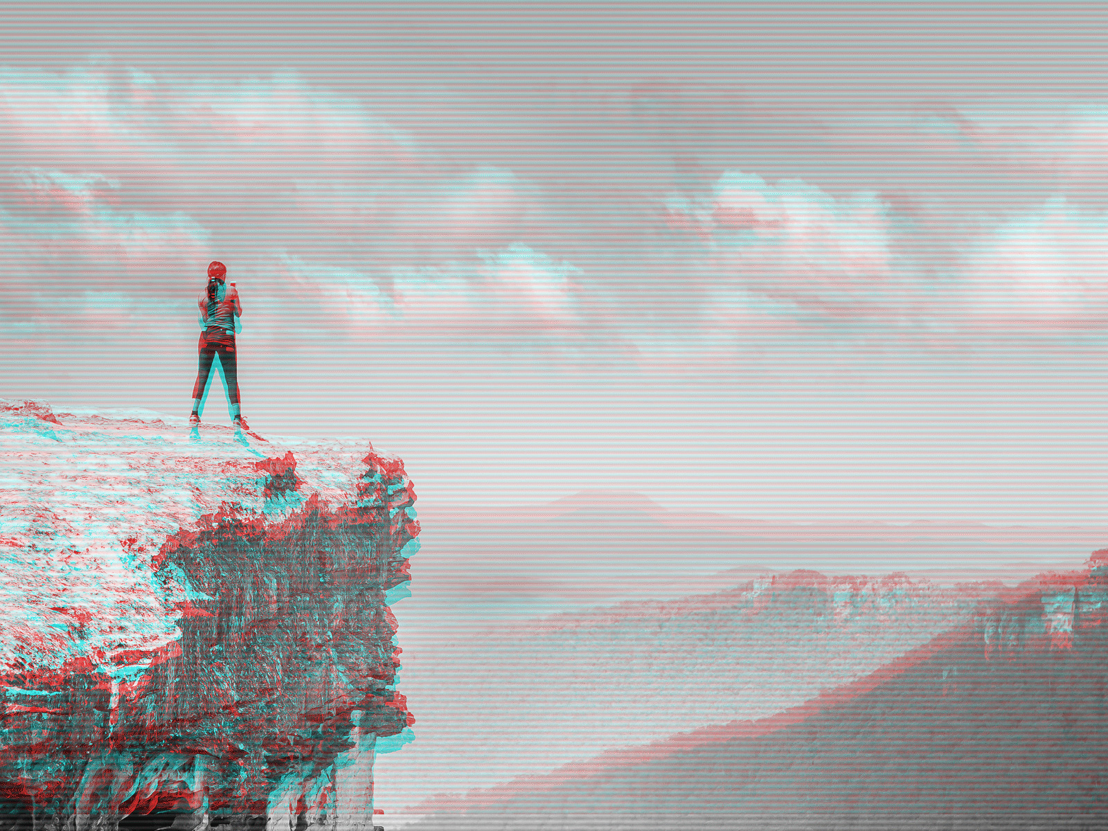 Animated Glitch Effect Action example image 2