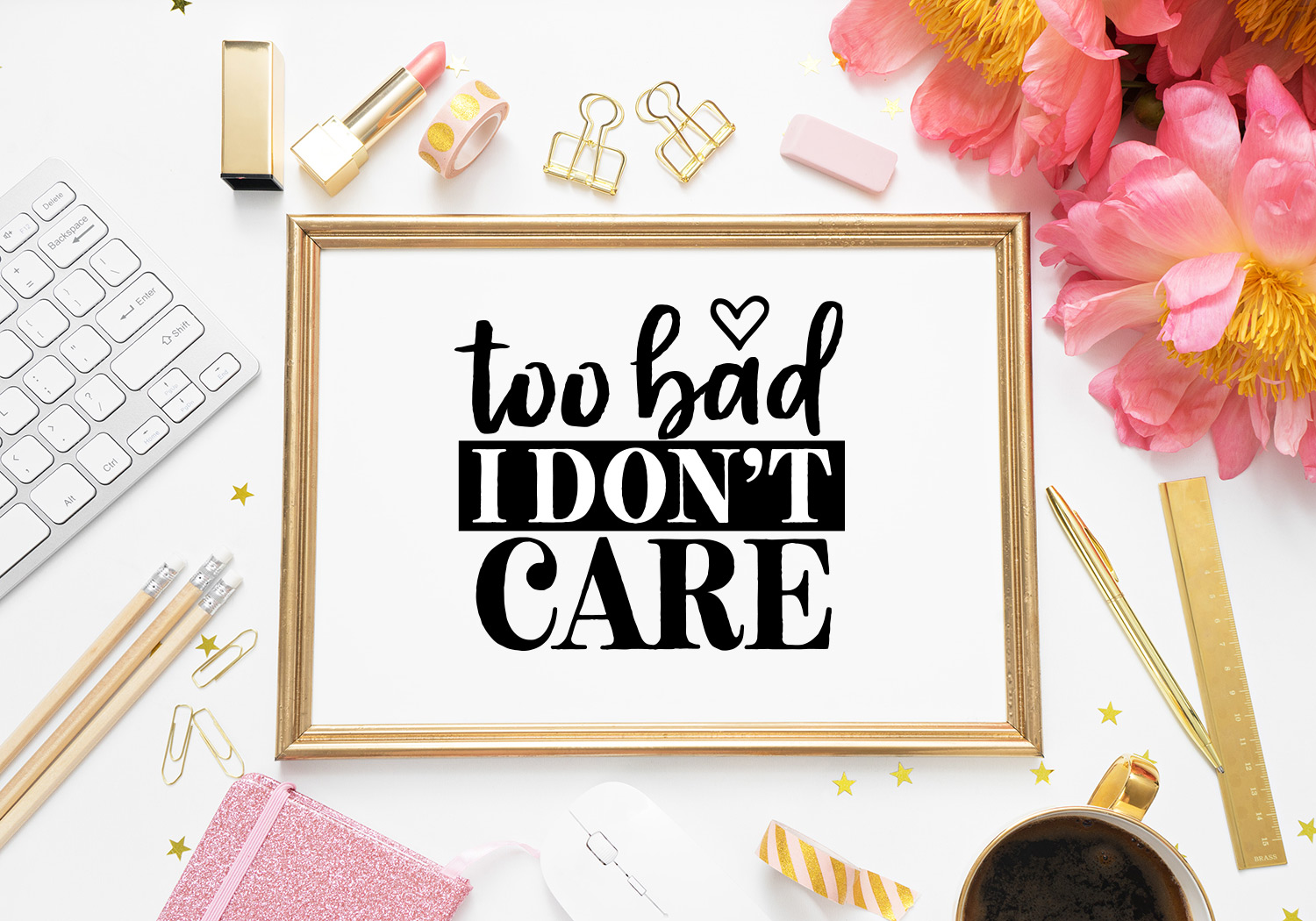 Sassy Quote SVG Cut File Bundle example image 9