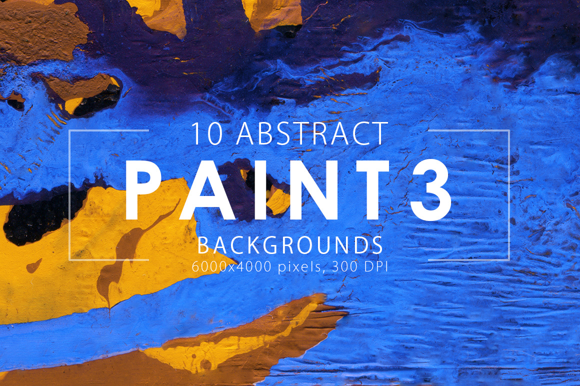 Abstract Paint Backgrounds Vol.3 example image 3