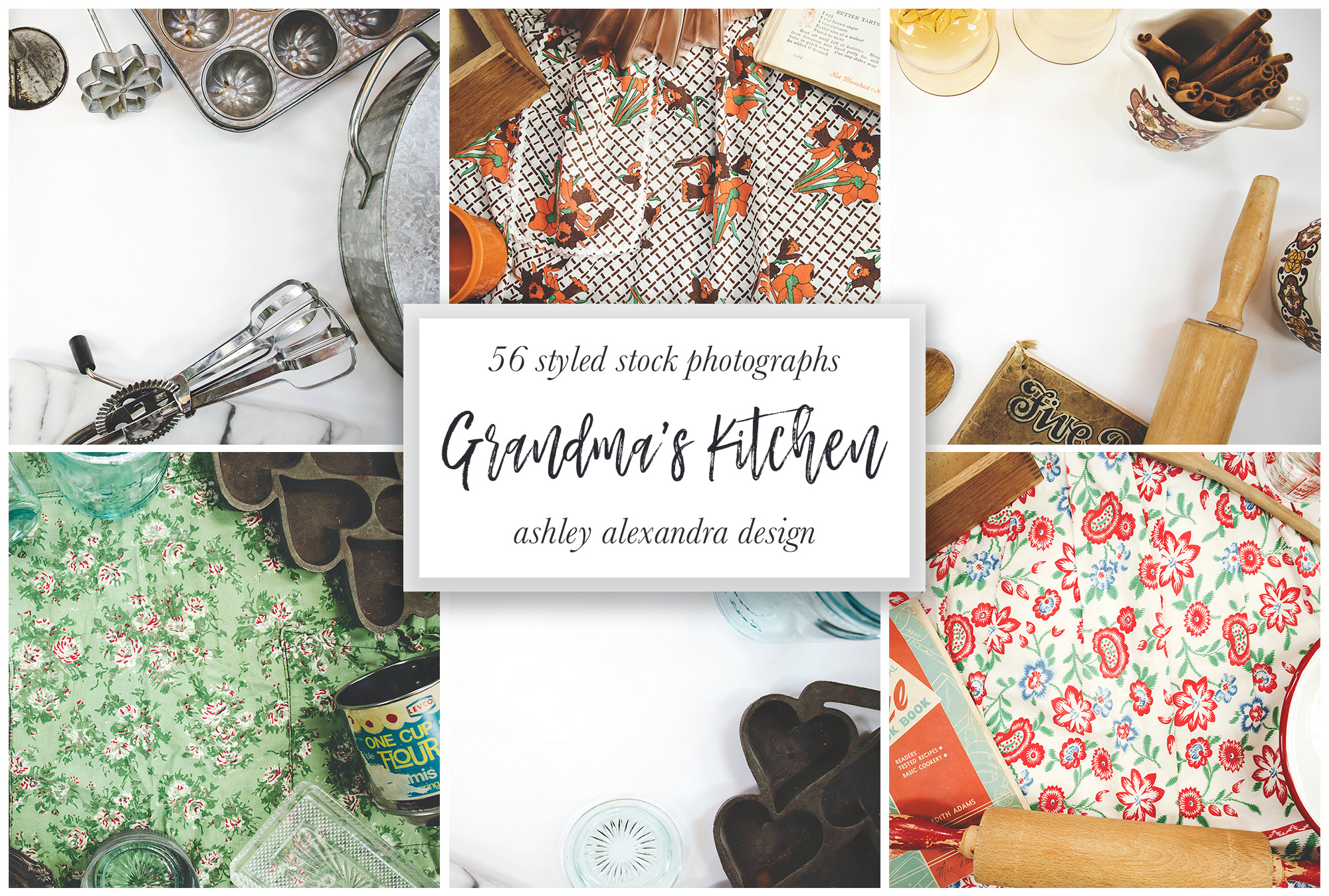 Grandma's Kitchen Stock Photography Bundle example image 6