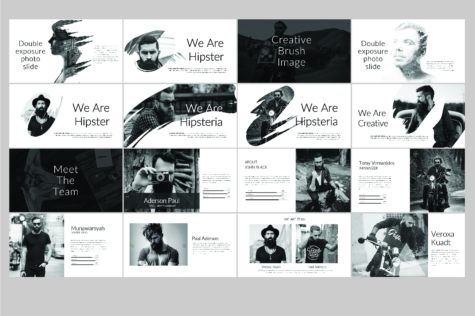 Hipsteria Business Keynote Template example image 5