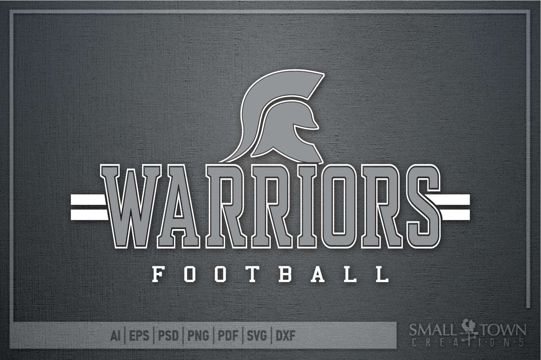 Warrior Football, Team, Sports, Logo, PRINT, CUT & DESIGN example image 5