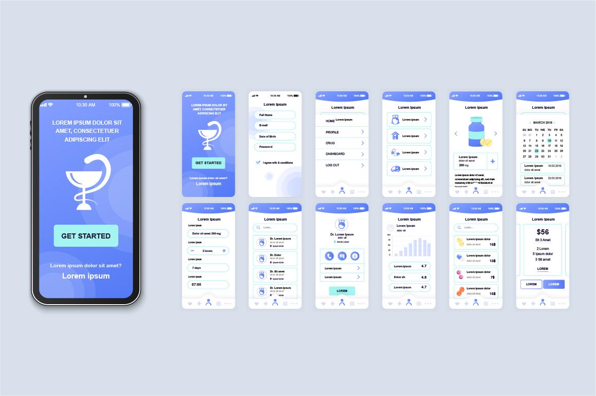 Bundle Mobile App UI Kit Screens example image 7