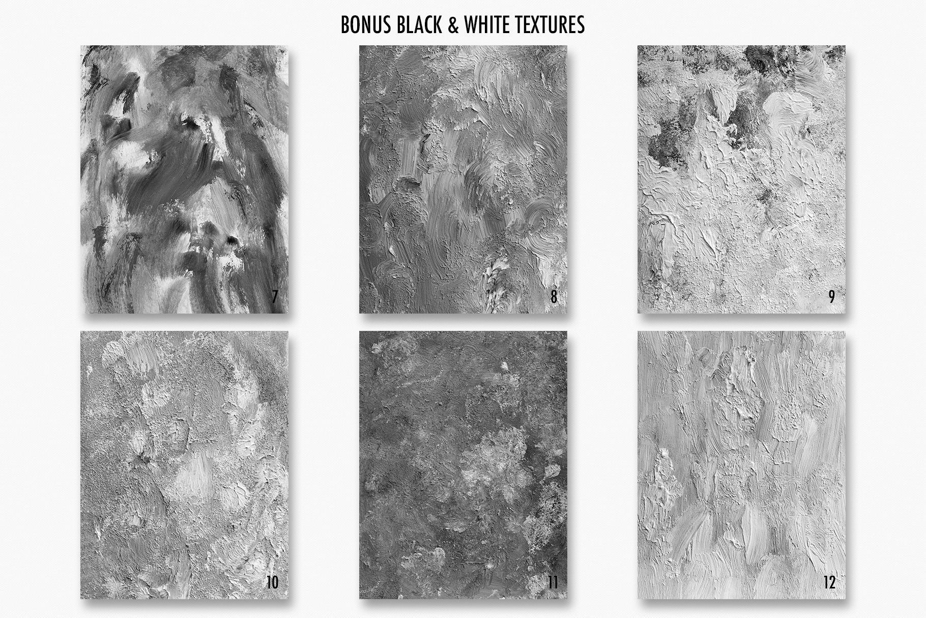Fine Art Acrylic Paint Textures - Hand Painted Backgrounds example image 21