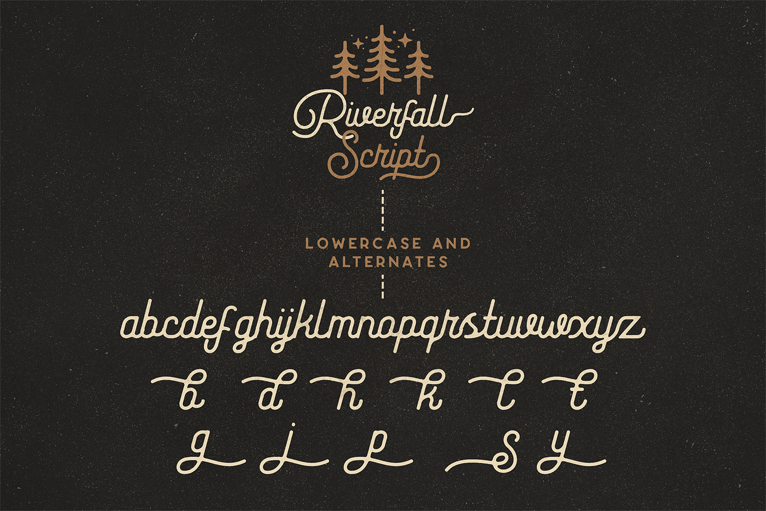 Riverfall Rounded Script and Sans 4 Typeface Ver.1 example image 3