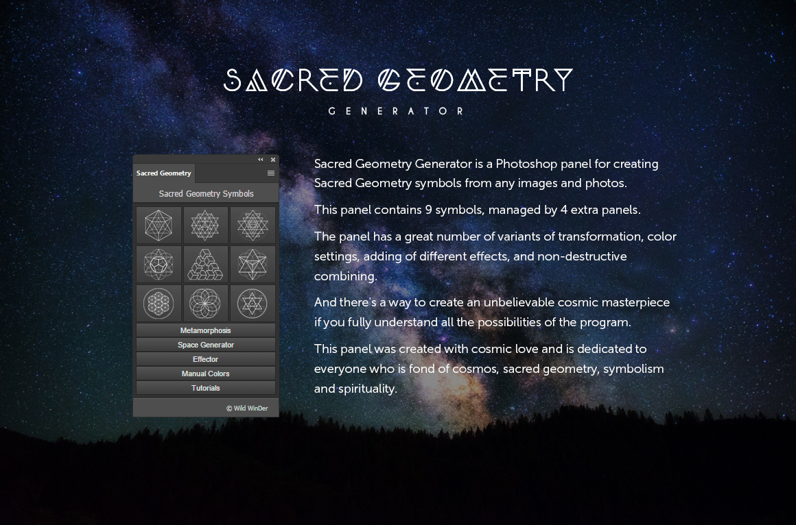 Sacred Geometry Generator example image 21