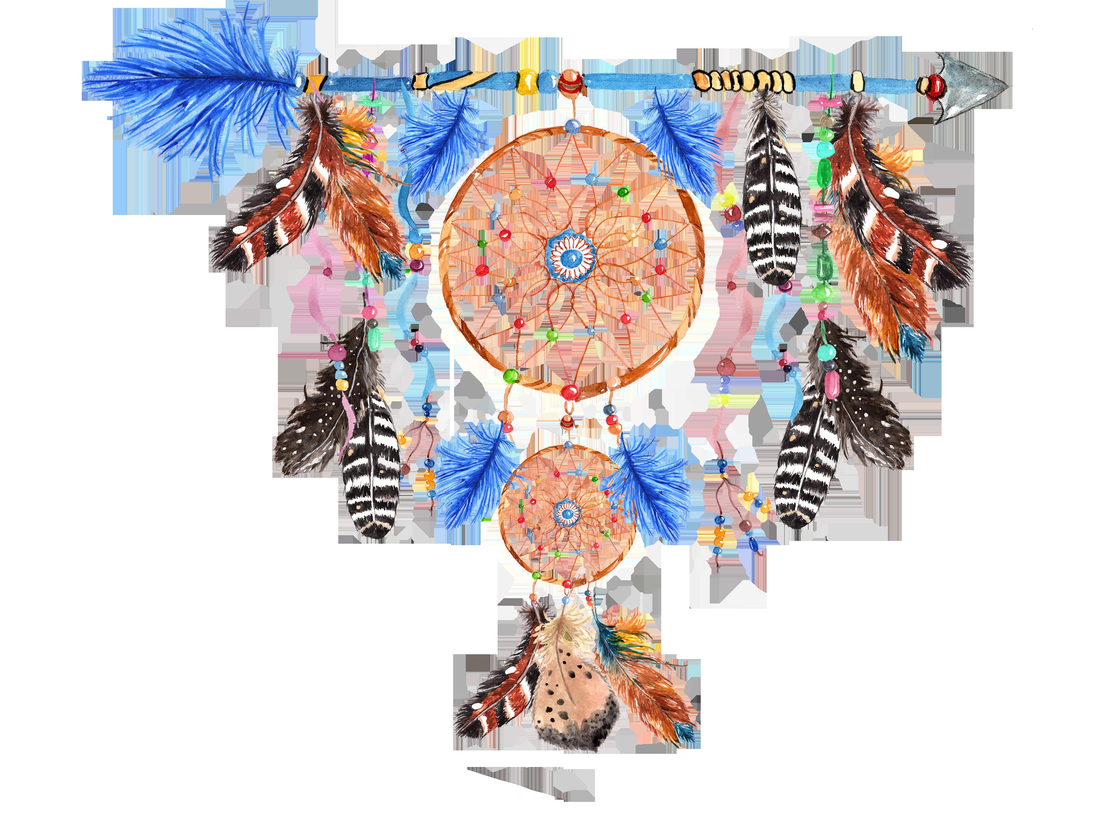 Dreamcatchers, Tribal clip art example image 5
