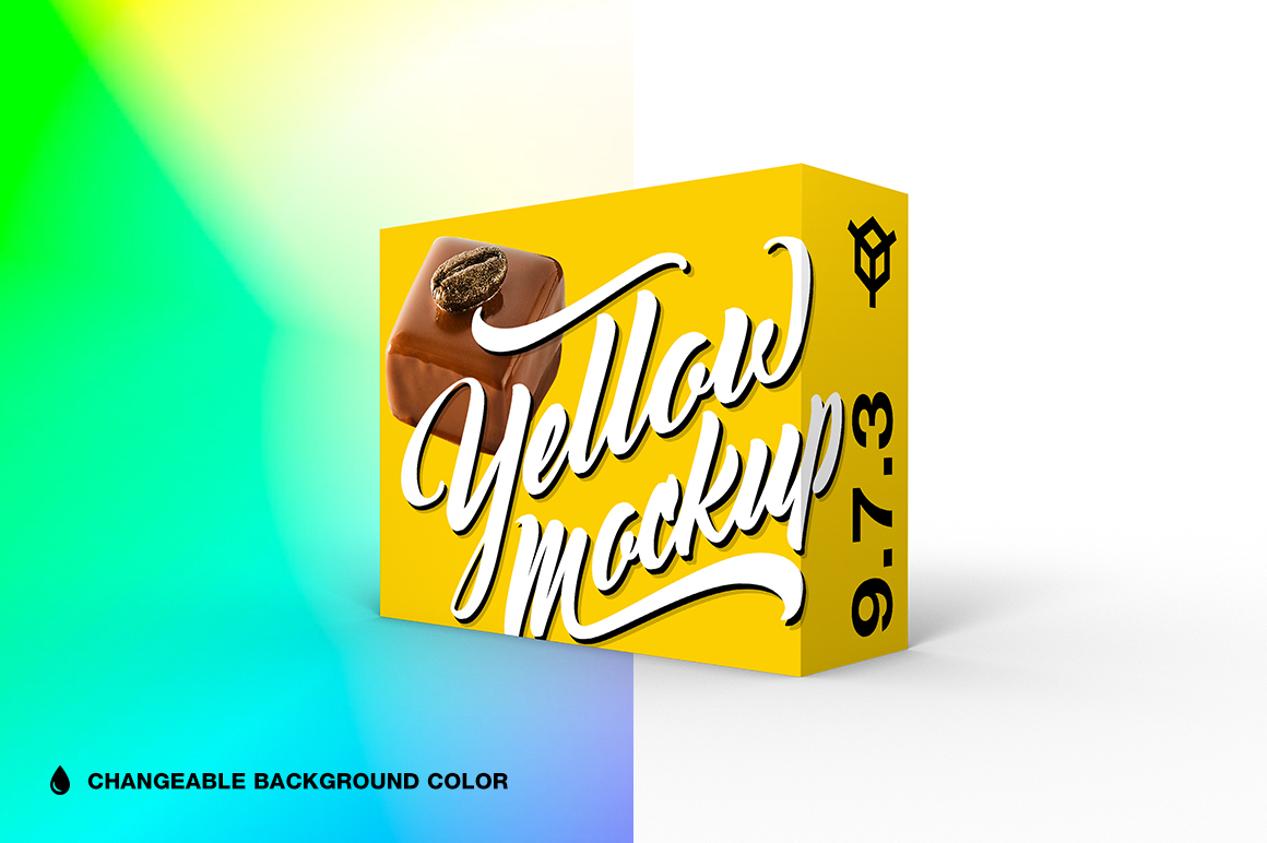 9.7.3 Simple 3D Box Mockup PSD example image 1