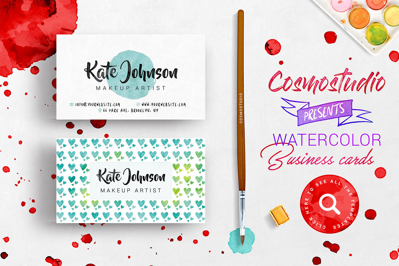 Watercolor Kit For Photoshop example image 14