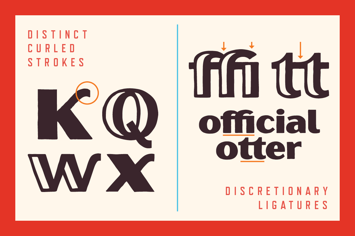 Oilvare Font Family example image 9