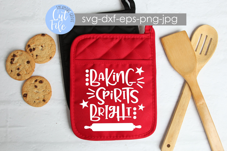 Baking Spirits Bright | Christmas SVG example image 2