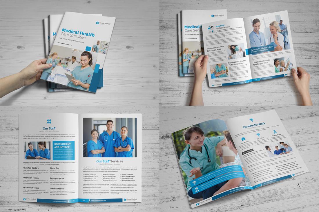 Medical HealthCare Brochure Bundle example image 8