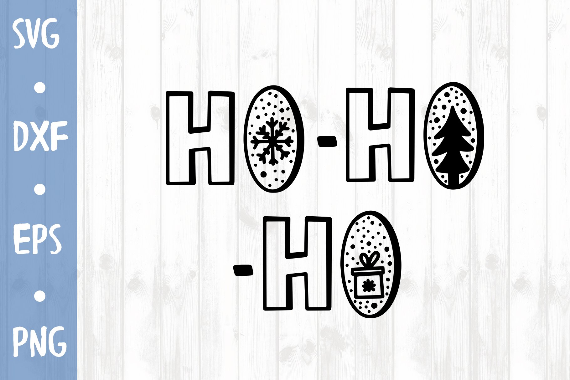 Ho-ho-ho SVG CUT FILE example image 1