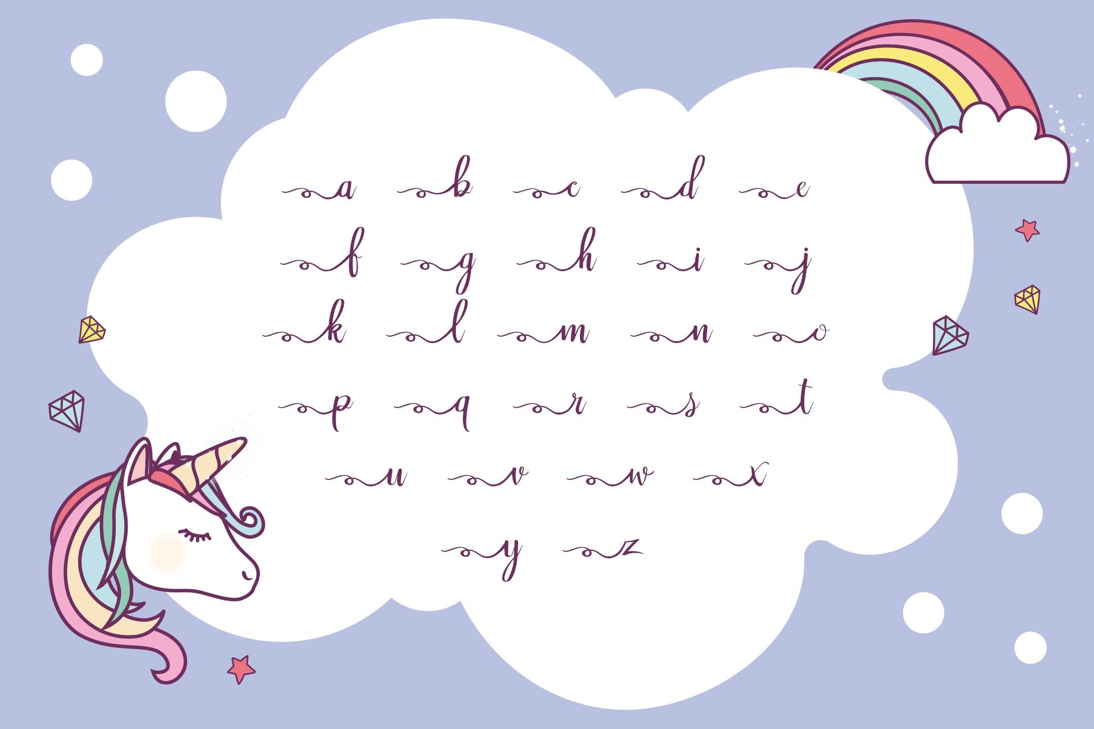 Rainbow Script example image 3