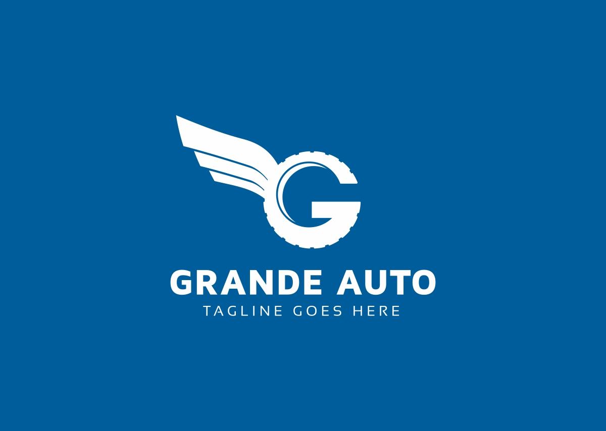 Grande Auto G Letter Logo example image 2