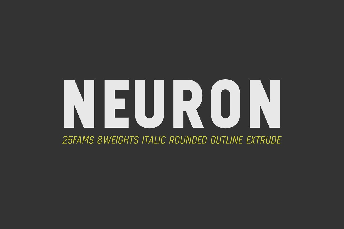 Neuron - Limitless Sans example image 1