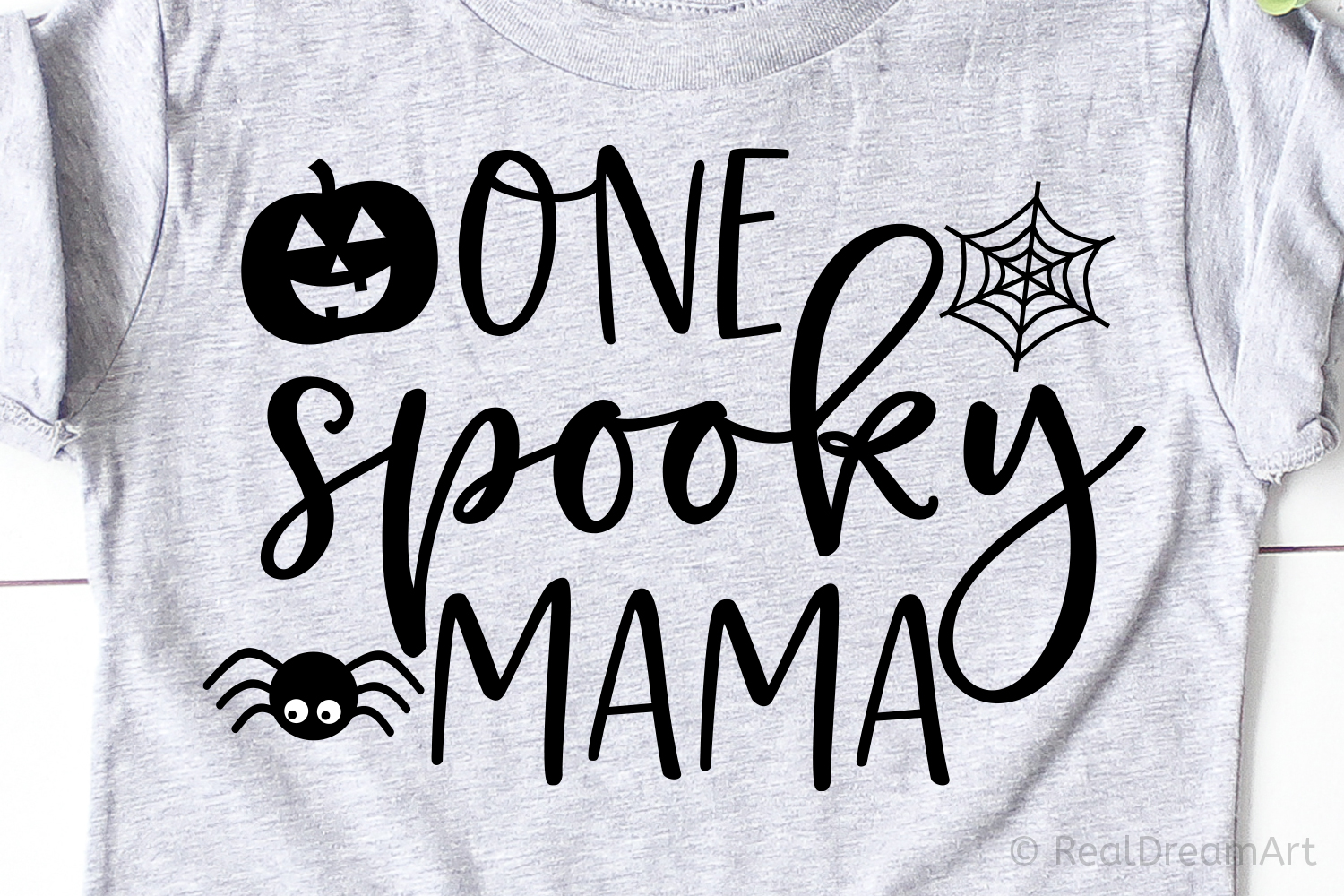 One Spooky Mama SVG, DXF, PNG, EPS example image 1
