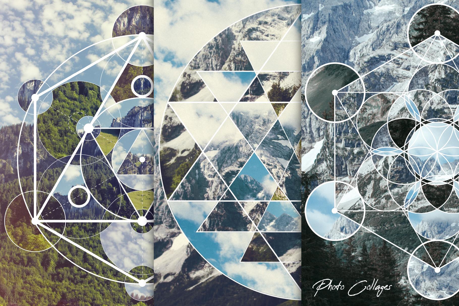 Sacred geometry unity of nature example image 6