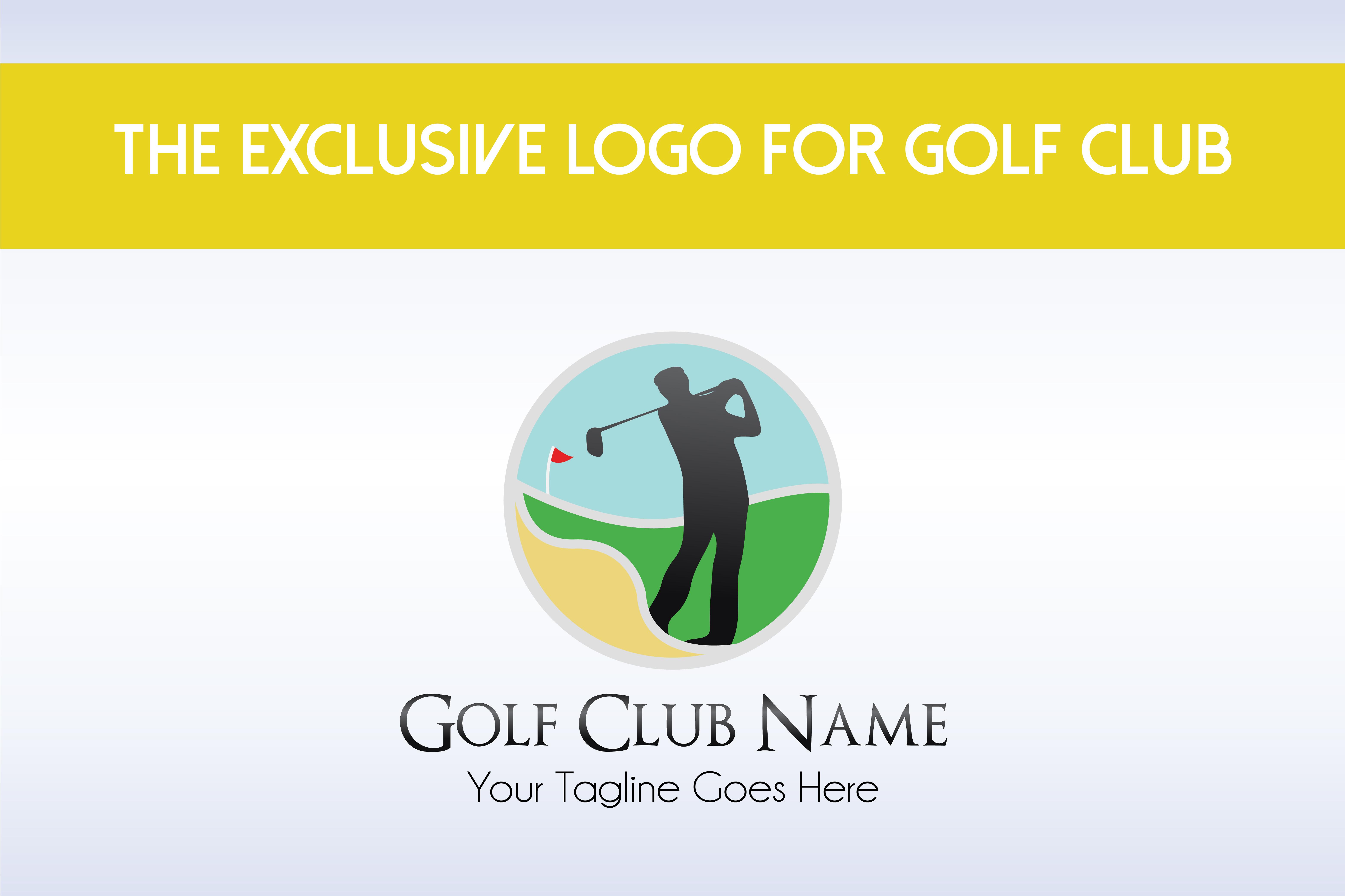 Golf Club Logo Template example image 1