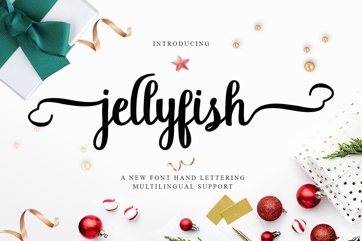 Jellyfish Script