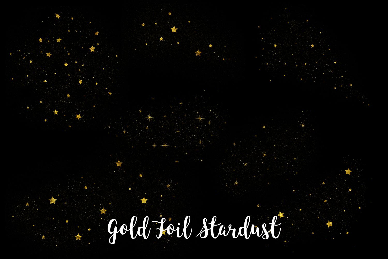 Gold Foil Stardust, Transparent PNG example image 4