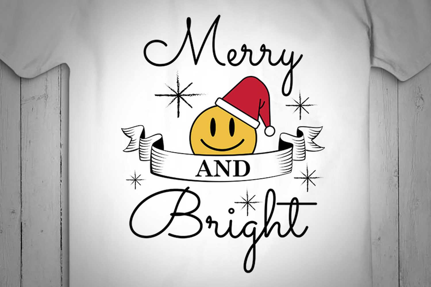 MERRY AND BRIGHT, christmas, design Svg, Christmas Svg example image 2