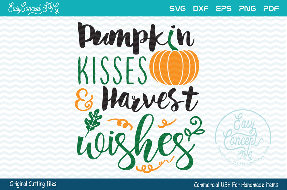 Pumpkin Kisses & Harvest Wishes  example image 1