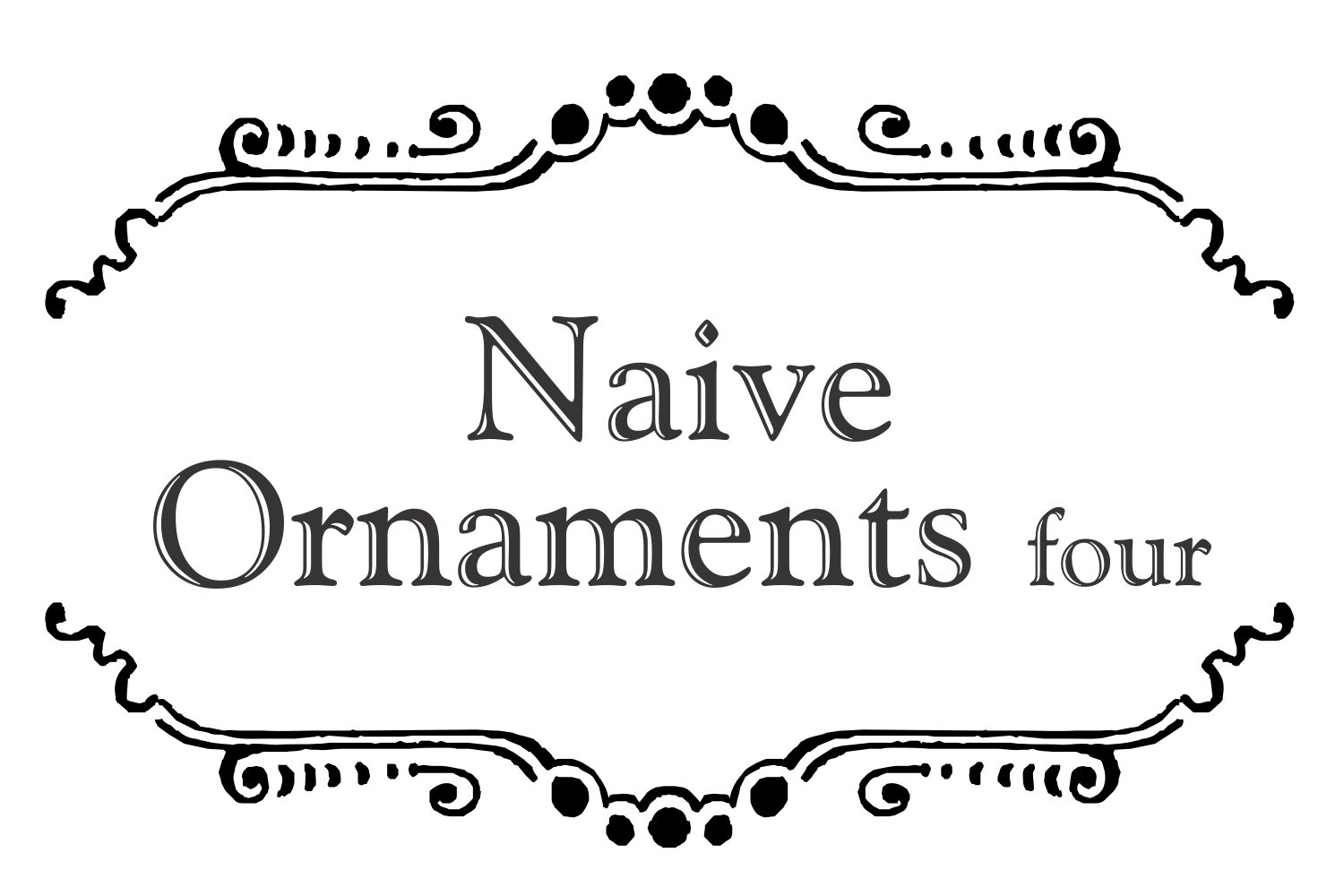 Naive Ornaments Four example image 4