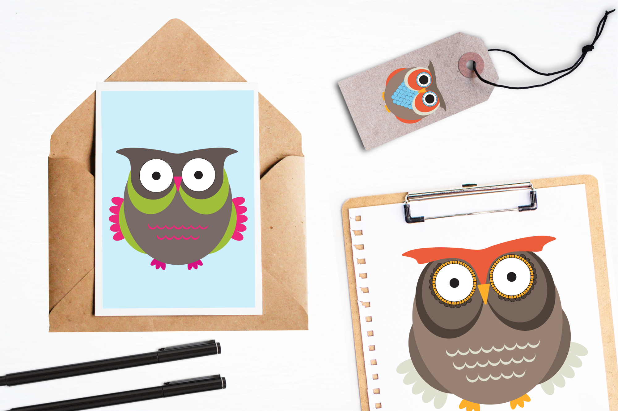 Owl Hoots graphics and illustrations example image 4
