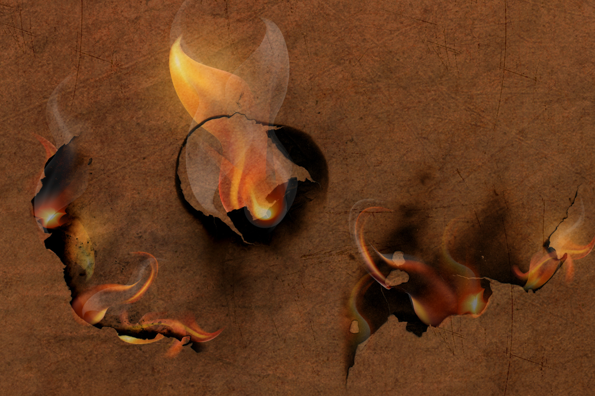 12 Smoke and Flame Effects example image 4