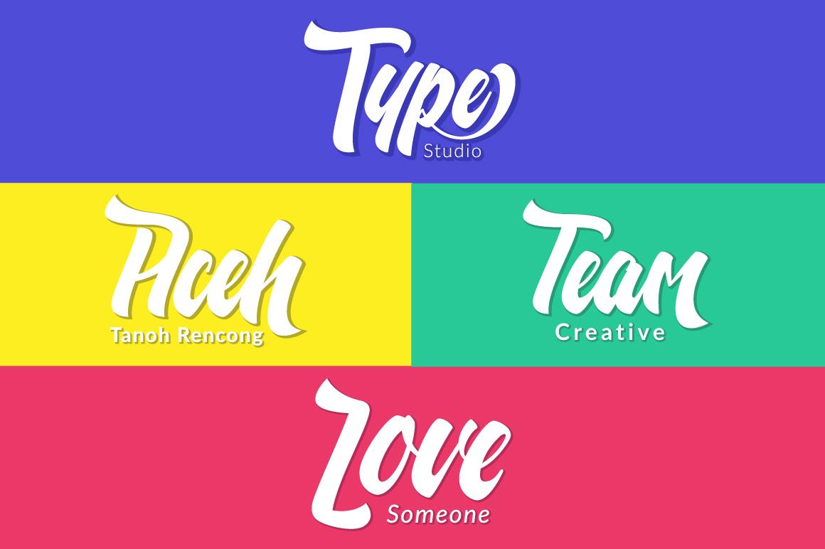 Nelda Typeface example image 4
