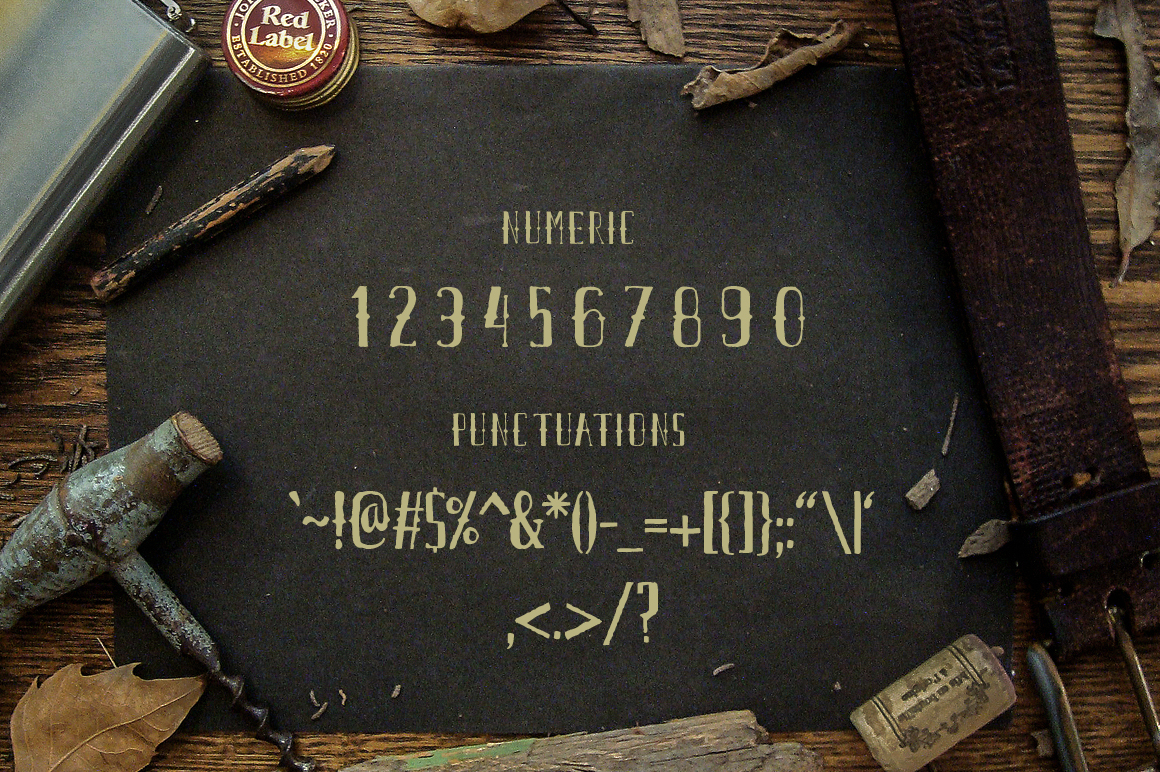 Airpena Rustic Font example image 3