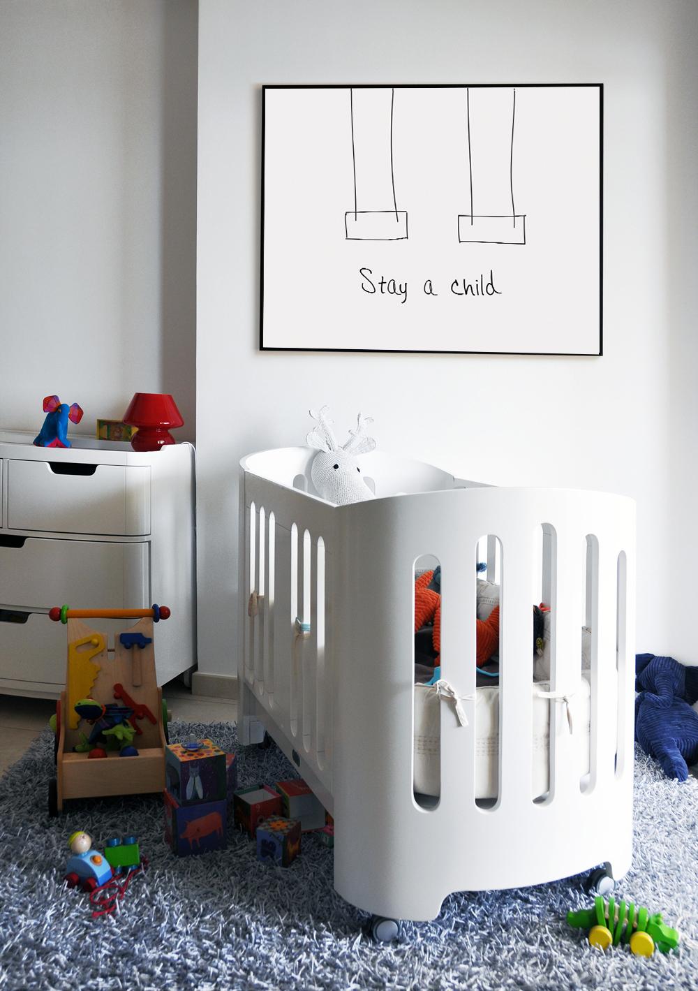 Nursery Quote Printable, Kids Room Wall Art Large example image 3