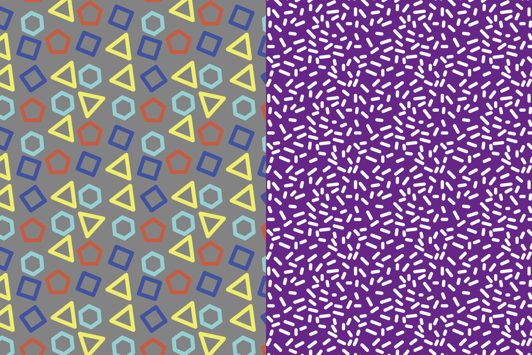 Abstract Geometric Patterns example image 8