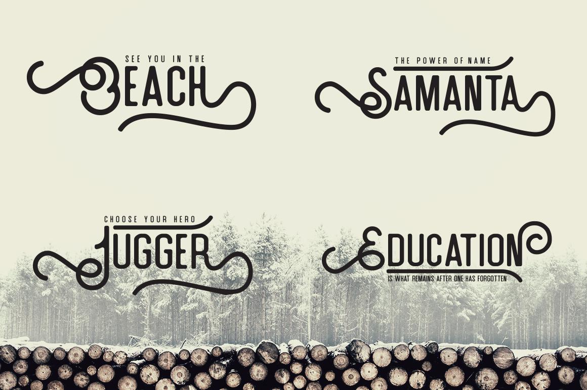 Artefak Typeface + Extras example image 5