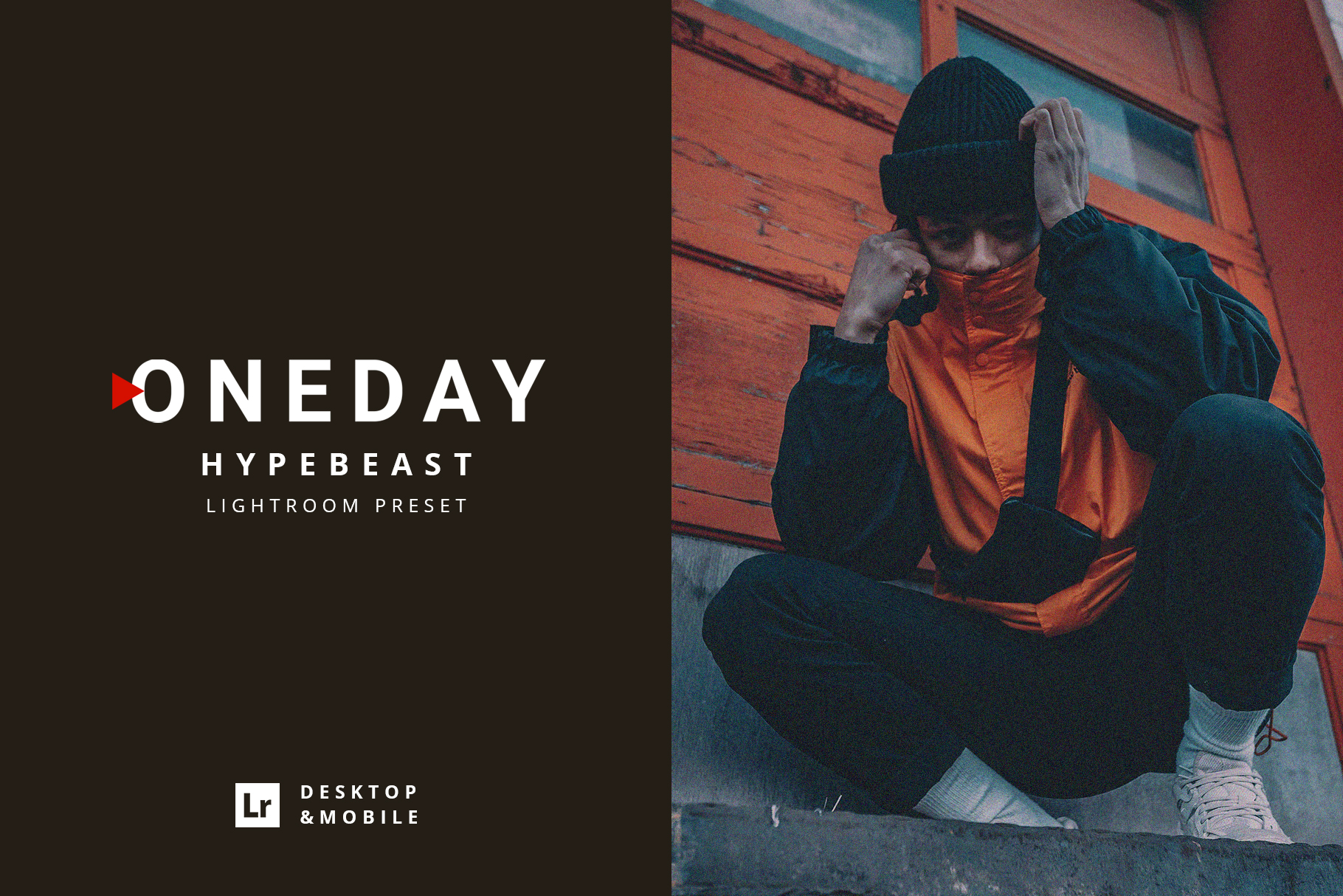 Oneday Hypebeast Lightroom preset example image 1