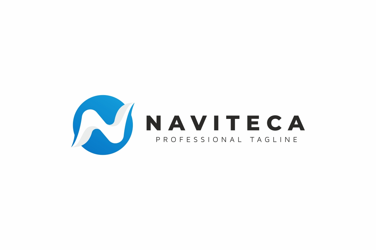 Naviteca / N Letter - Logo Template example image 3