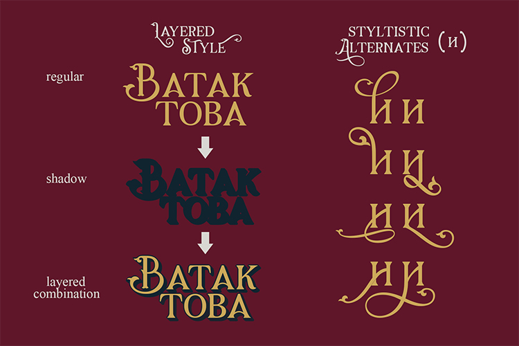 Gorga Font example image 8