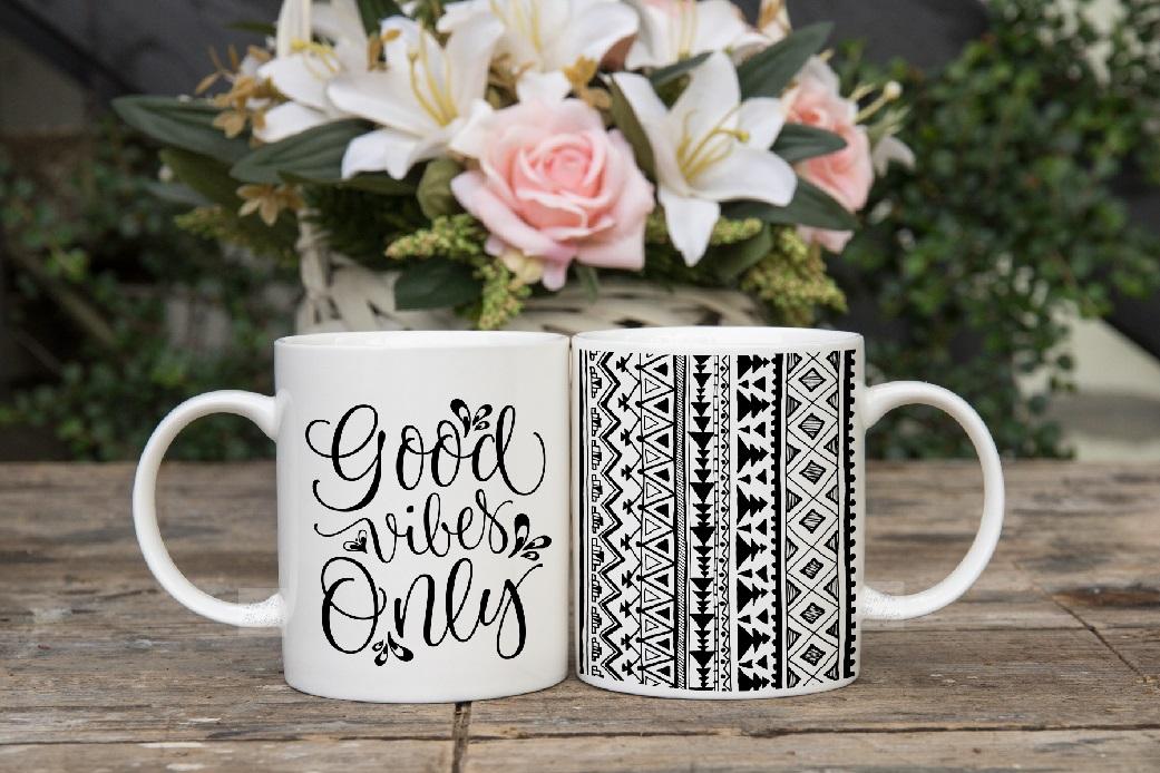 Two coffee mug mock ups double mockup mugs set of 2 cups example image 3
