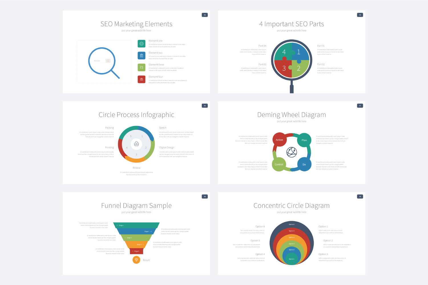 Phylox Powerpoint template example image 14