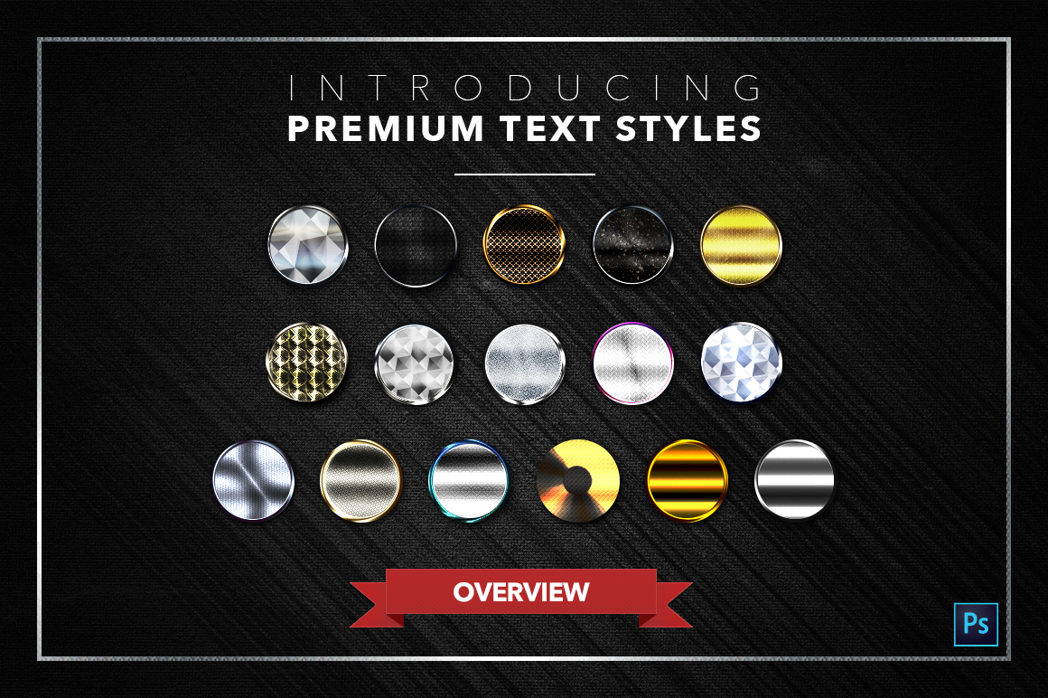 Diamond & Metal #2 - 16 Text Styles example image 19