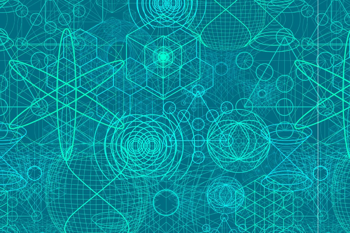 {Sacred Geometry} Symbols + Meshes example image 5