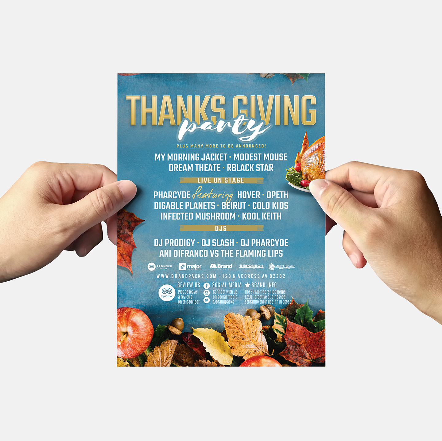 Thanksgiving Flyer Template example image 6