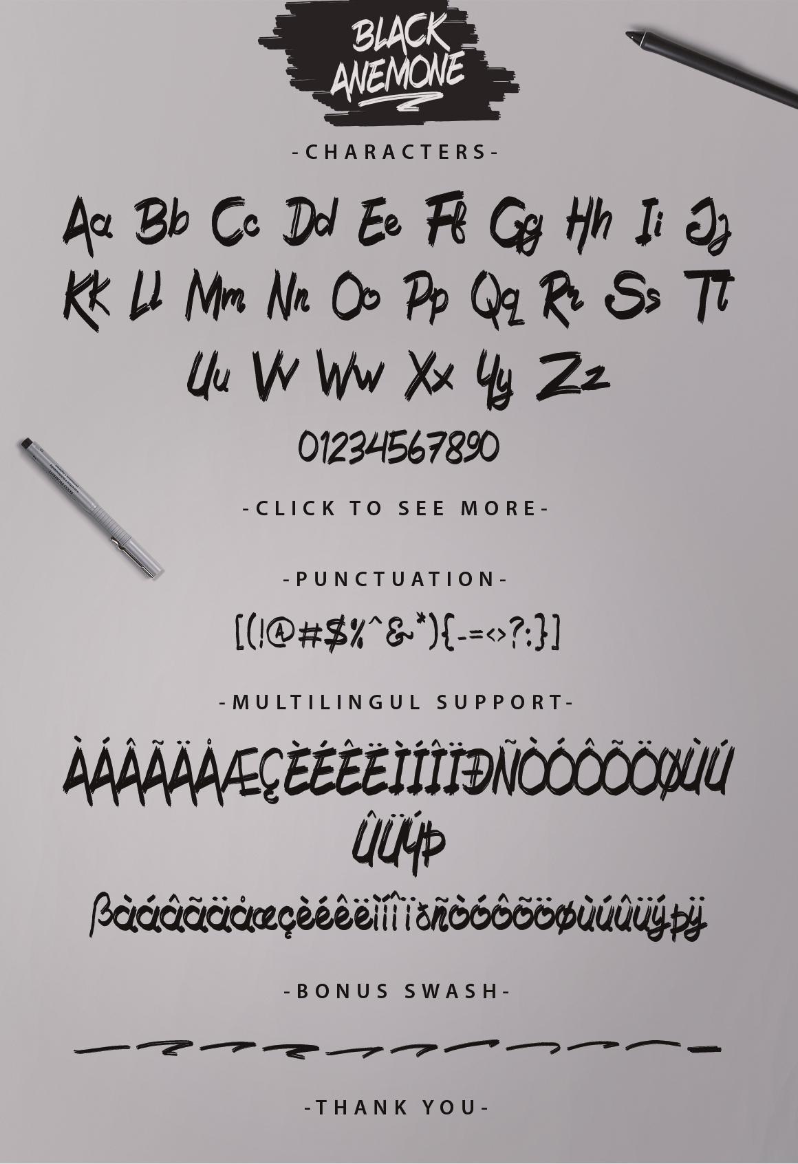 Black Anemone example image 5
