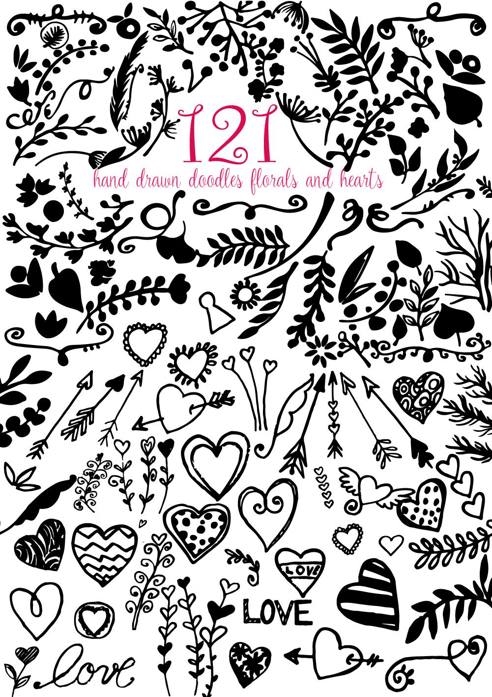 Valentine's Day Watercolor Giftbox example image 14