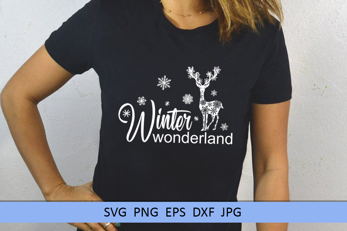 Christmas svg Winter wonderland svg Winter svg Snowflake svg example image 8