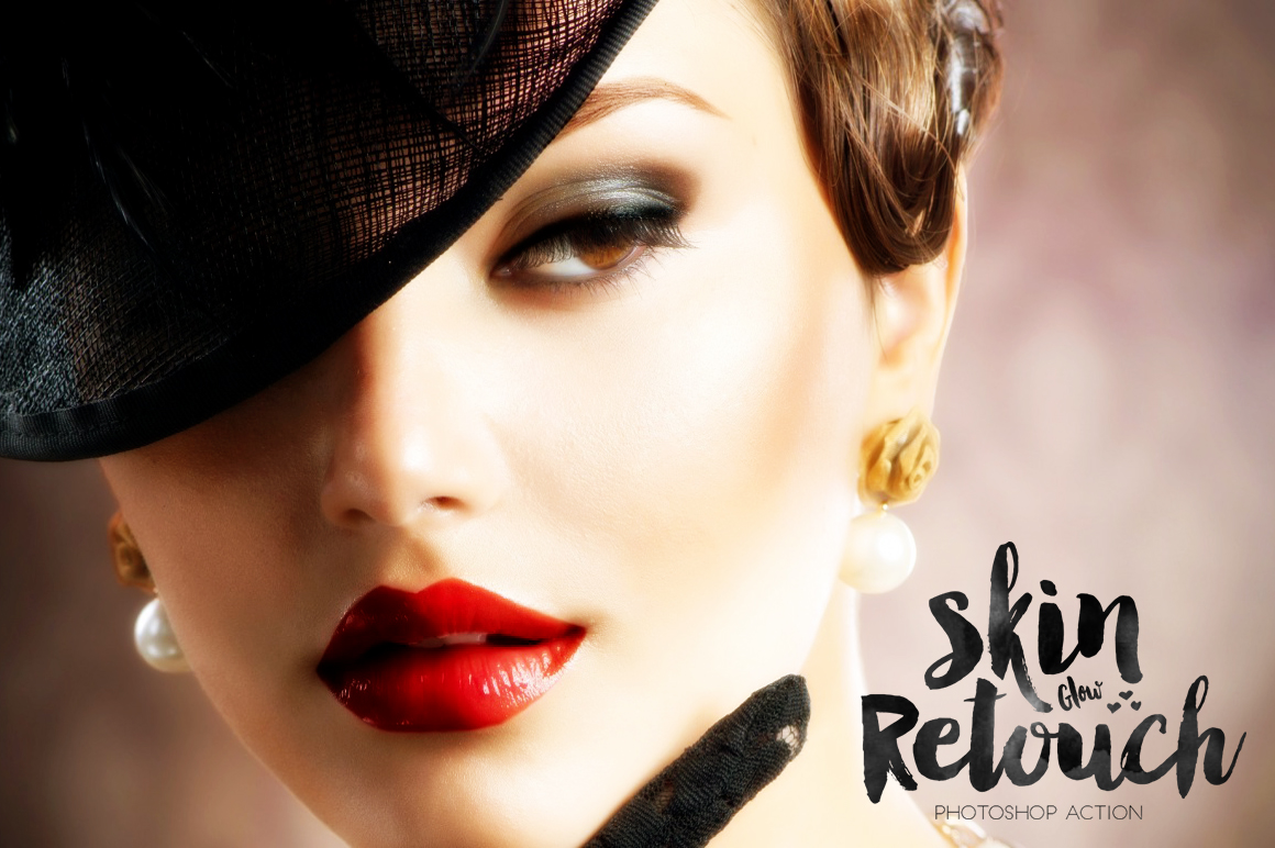 Skin Glow Retouch Action example image 3
